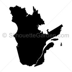 Quebec silhouette clip art. Download free versions of the image in EPS, JPG, PDF, PNG, and SVG formats at http://silhouettegarden.com/download/quebec-silhouette/