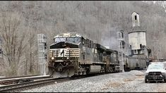 Loaded Coal Train w Old Coal Tower & Tunnel in Farm, WV - YouTube Norfolk Southern, Trains, Tower, Videos, Youtube, Rook, Computer Case, Youtubers, Train