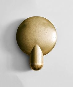 Surface Wall Sconce – Matter Table Seating, Concave, Wall Sconces, It Cast, Surface, Bronze, Sculpture, Lighting, Sculptures