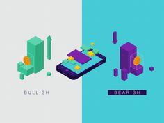 Bullish or Bearish by Oi! - Dribbble