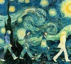 The Beatles/Van Gogh...my favorite band and favorite artist!