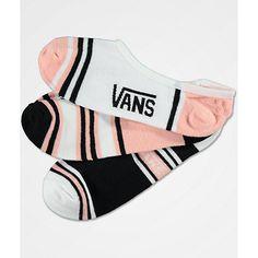Mode Lifestyle adulte VANS Chaussettes Vans W Basic Canoodle 7 White Black