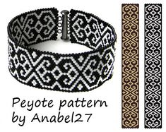 Pattern made with size 11/0 Miyuki Delica seed beads Approx width: 1 (19 columns) Approx length: 6.91 Technique: Odd Count Peyote Colors: 2 Pattern includes: - Large colored numbered graph paper - Bead legend (numbers and names of delica beads colors ) - Word chart - Pattern preview PLEASE NOTE: !!! PATTERN DOES NOT CONTAIN ANY INSTRUCTIONS OR MATERIALS !!! 2 PDF files: (Instant download, link is available once your payment is confirmed) This pattern is for personal use only. Do not sha...
