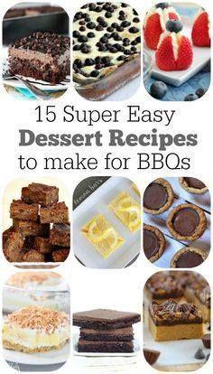 15 Super Easy Desser 15 Super Easy Dessert Recipes Recipe :...  15 Super Easy Desser 15 Super Easy Dessert Recipes Recipe : ift.tt/1hGiZgA And My Pinteresting Life | Recipes, Desserts, DIY, Healthy snacks, Cooking tips, Clean eating, ,home dec  ift.tt/2v8iUYW