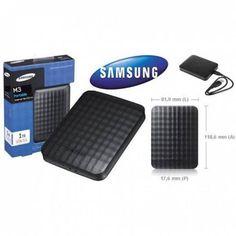 Hd Externo De Bolso Samsung, Slim, M3, 1tb, 1000gb, Usb 3.0, Portátil. Compre na Loja Online