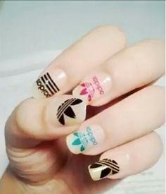 Adidas Nails.