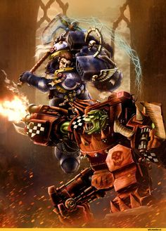k1lleet,Ультра превозмогает орков,WH Other,Warhammer 40000,warhammer40000, warhammer40k, warhammer 40k, ваха, сорокотысячник,WH Песочница,фэндомы