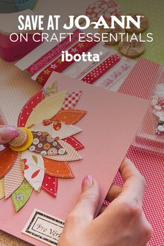 DIY for less with cash back deals at Jo-Ann Fabric and Craft Stores when you use Ibotta.