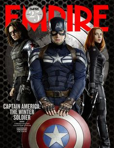 captain america 2 empire mag covers | See the first photo of Sebastian Stan as the 'Winter Soldier' | Inside ...