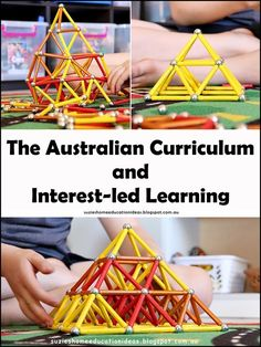 Suzie's Home Education Ideas: The Australian Curriculum and Interest-led Learning Play Based Learning, Project Based Learning, Learning Resources, National Curriculum, Homeschool Curriculum, Preschool Transitions, Inspired Learning, Australian Curriculum, Home Schooling