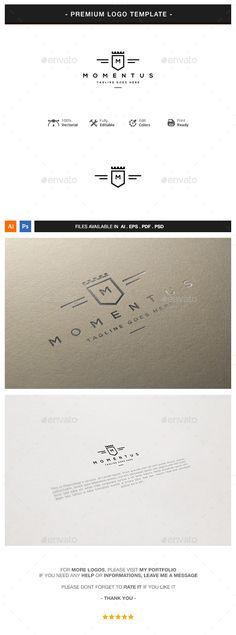 Crest Logo Template #design #logotype Download: http://graphicriver.net/item/crest-logo-template/13138649?ref=ksioks