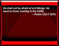 Image result for Psalm 112:7 kjv