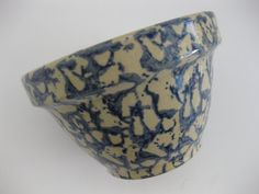 Blue Roseville Pottery Mixing Bowl 6 Inch by MyLittleSomethings