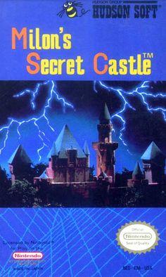 Milon's Secret Castle - Label or Box Art #nintendo games #gamer #snes #original #classic #pin #synergeticideas #gameon #play #award