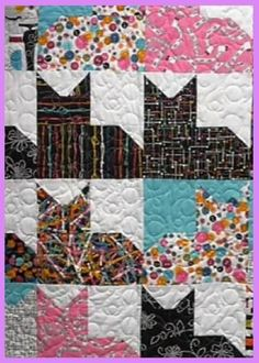 This beautiful free quilt patterns has lots of cats for the animal lover in all of us or try any one of the other free quilt patterns. You are going to want to make them all|www.onecraftygal.com #quilt #quilting #craft #sewing #patterns #free #freepatterns