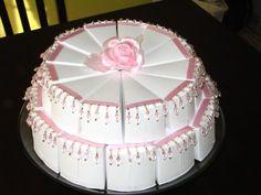 Paper cakes by Rachel