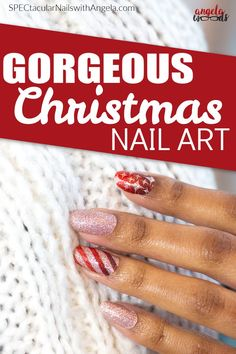 Skip down Candy Cane Lane and try these delightful nails this Christmas – you might even be mistaken for one of Santa's elves. Add a festive touch to your nails with Wrap It Up, a sparkling gold and red wrapping paper design of stripes and diamond shapes. Get holiday perfect nails at home with Color Street! #christmasnaildesign #holidaynaildesign #colorstreetnails Wrapping Paper Design, Holiday Nail Designs, Nail Polish Strips, Nails At Home, Color Street Nails, Nail Bar, Christmas Nail Art, Perfect Nails, Free Items