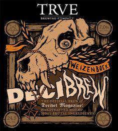 Decibrew label by Bruno Guerreiro.