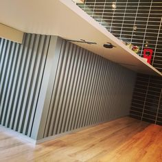 #Renotta365 meets 外壁材をキッチンにガルバニウムで自分のお部屋で #RESTAURANT LIFE #賃貸リノベーション #Renotta