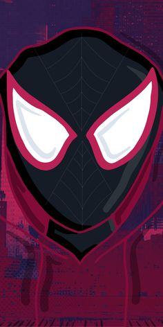 Amazing Spiderman, Black Spiderman, Spiderman Spider, Marvel Comics Art, Marvel Heroes, Marvel Characters, Marvel Avengers, Spiderman Wallpapers, Miles Morales Spiderman