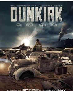 The Official cover of the movie! #dunkirk