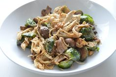 Balsamic Chicken and Brussel Sprouts