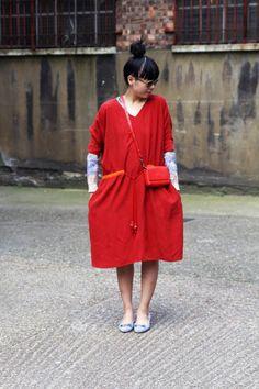 Style Bubble oversized dress
