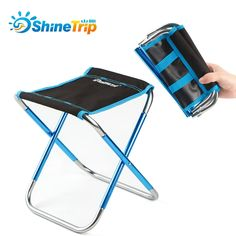 ShineTrip Foldable Fishing Chair Seat Lightweight Outdoor Camping Picnic Beach Fishing Chair with Bag Outdoor Fishing Tools  Price: 29.99 & FREE Shipping  #clothing|#fashion|#Beauty