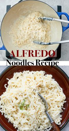 Pasta Dinner Recipes, Dinner Dishes, Pasta Dishes, Side Dishes, Healthy Eating Recipes, Vegetarian Recipes, Cooking Recipes, Easy Alfredo Recipe, Dinners