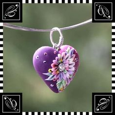 *POLYMER CLAY ~ Two in one love