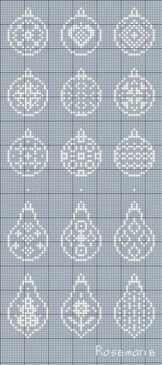 ru / Photo # 120 - New Year and / freebies - Jozephina Cross Stitch Christmas Ornaments, Xmas Cross Stitch, Cross Stitch Cards, Christmas Embroidery, Christmas Knitting, Christmas Cross, Cross Stitching, Blackwork Embroidery, Cross Stitch Embroidery