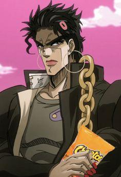 POV: Jotaro is the ghetto girl in the back of your math class. I was thinking about Jotaro and th Jojo's Bizarre Adventure Anime, Jojo Bizzare Adventure, Got Anime, Anime Manga, Neko, Reaction Pictures, Funny Pictures, Jotaro Kujo, Funny Anime Pics