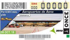 Aeropuerto de Salamanca. Sorteo el 5 de octubre de 2015.