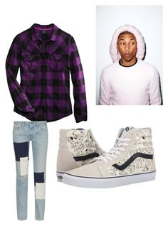 """Pharrell"" by lord-of-swagger on Polyvore featuring Harley-Davidson, Simon Miller and Vans"