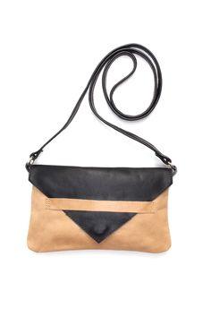 Yami Contrast Cross Body Bag