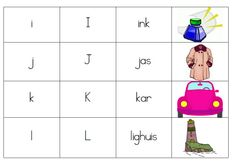 alphabet kaarte afrikaans Preschool Worksheets, Classroom Activities, Infant Activities, Activities For Kids, Afrikaans Language, Kids Homework, Activity Sheets, School Resources, Kids Education