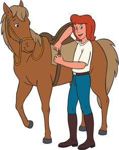 Tina Martin, ist 14 Jahre alt. Sie ist selbstbewusst und energisch. Wehe dem, der Tieren und besonders Pferden etwas zuleide tut, denn Pferde liebt Tina über alles.