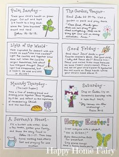 The Joy Journey - Christ-Centered Easter Activities (FREE Printable) - Happy Home Fairy Jesus The Joy Journey - Christ-Centered Easter Activities (FREE Printable) - Happy Home Fairy activities for toddlers religious Holy Week Activities, Easter Activities For Kids, Easter Story For Kids, Easter Story For Preschoolers, Easter Story Bible, Preschool Activities, Easter Stories, Easter Play, Easter Games