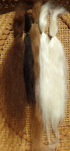 Combed Suri Alpaca Doll Hair 0.2 of an ounce by StephanieASmith
