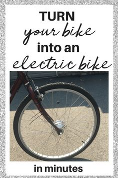 Have you wondered why someone would get an electric bike? Did you know that you can easily convert your regular bike into an e-bike within minutes? Commuters, students, the elderly, eco-friendly riders and just about anyone love the benefits of riding an Electric Bike Kits, Electric Scooter, Motivational Stories, Bike Seat, Frugal Living Tips, Home Repair, Money Saving Tips, Money Tips, Fun Workouts