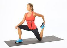 Pin for Later: Chances Are High Your Butt Is Asleep, and Here's How to Wake It Up Stretch Your Quads