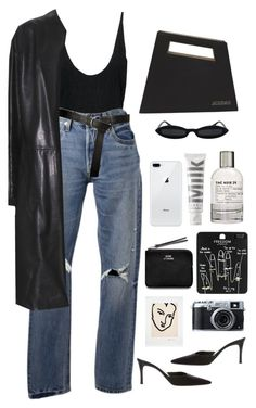 """""""call me by your name"""" by millicent4 ❤ liked on Polyvore featuring Levi's, Donna Karan, Gucci, Jacquemus, Le Labo, MILK MAKEUP, Topshop, Fujifilm and Acne Studios"""