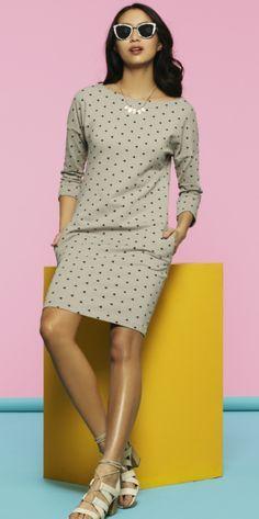 Free PDF pattern, GBSB Jersey dress