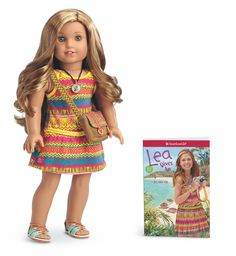 American Girl - Lea Clark - Lea Doll And Book - American Girl Of 2016 Girl Doll Clothes, Girl Dolls, Ag Dolls, American Girl Doll Lea, American Girls, Lea Clark, Face Mold, Little Boy Fashion, Doll Face