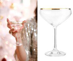 Elle Decor, Martini, Vodka, Cocktail, Glitter, Colours, Dessert, Drinks, Tableware