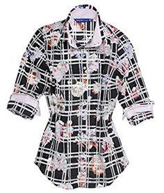 #Whattowear in the office? #LongSleeve #Blouse in #Plussizes find @Amazon Women's Clothing store: Georg Roth Los Angeles Women's Plus Size Greta's Garden B19017-716