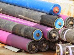 Mponeng mine. Belt conveyor rollers. Rollers, Art Supplies, Belt, Belts