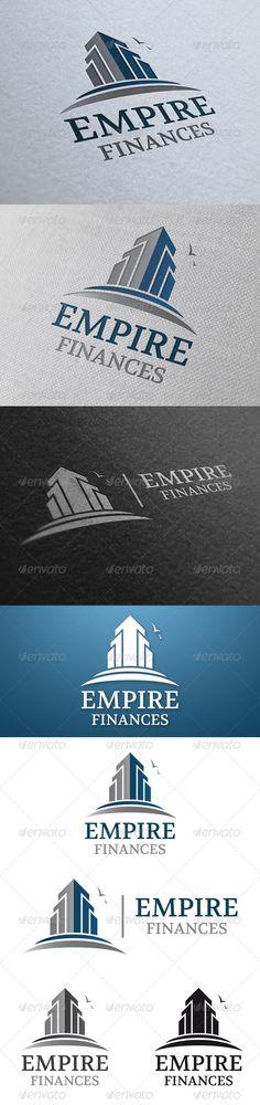 Empire Real Estate Logo Design Template Vector #logotype Download it here: http://graphicriver.net/item/empire-real-estate-logo-template/4781399?s_rank=64?ref=nesto