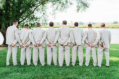 Fun groomsmen. Image by Nicole Corrine
