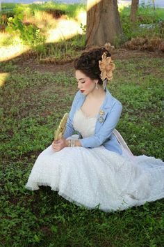 Marie Antoinette Hair and Makeup by Brenna Kneiss